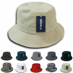 1 Dozen Decky Fisherman's Bucket Washed Chino Twill Hat Hats