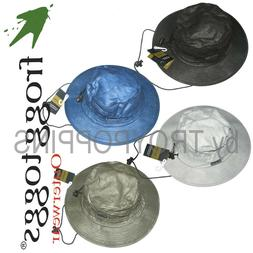 1-FTH101 ADULT FROGG TOGGS BUCKET HAT RAIN GEAR HEADWEAR FIS