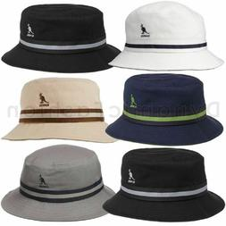 100% Authentic Mens Kangol Stripe Lahinch Bucket K4012SP