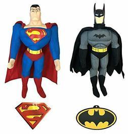 "Marvel Batman & Superman 17"" Plush Doll"