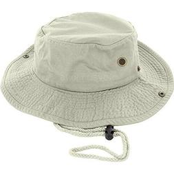 DealStock 100% Cotton Boonie Fishing Bucket Men Safari Summe