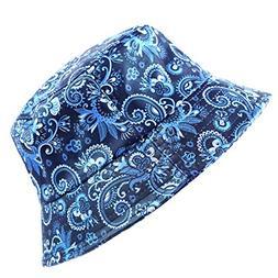 The Hat Depot 1300pu- pu Bandana Design Bucket Hat