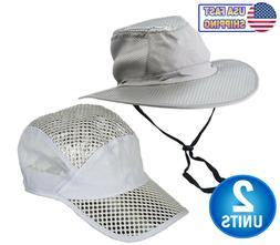 2 Polar Hydro Evaporative Cooling Hat UV Reflective Protecti