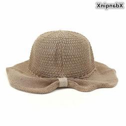 XdanqinX 2019 New Novelty Summer Women's Sun Hats Foldable B