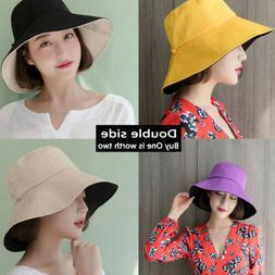 2in1 Women's Summer Sun Beach Mesh Bucket Hat 2019 Boonie Ca