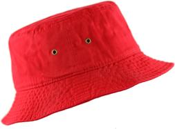 The Hat Depot 300N Uni 100% Cotton Packable Summer Travel Bu