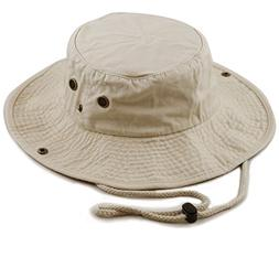 THE HAT DEPOT 300N1510 Wide Brim Foldable Double-Sided Outdo