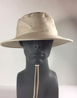 Sloggers 4471ST Classic Cotton Hat with Wind Lanyard Rated U