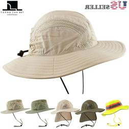 The Hat Depot 50 UPF Sun Protection Outdoor Safari Sun Mesh