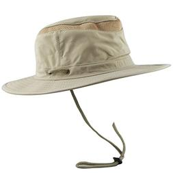 THE HAT DEPOT 50 UPF Unisex Outdoor Safari Sun Mesh Bucket B