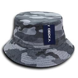 DECKY 961-PL-URB-06 Polo Bucket Hat, Urban, S_M
