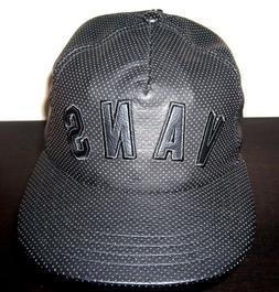 Vans Shoes Mens Novelty Faux Leather Trucker Hat Cap Black A