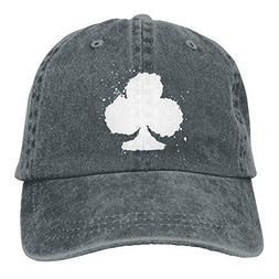 Ace Poker-1 Vintage Jeans Baseball Cap Adjustable Plain Cap