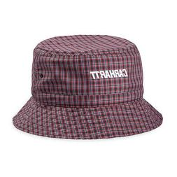 Carhartt Alistair Bucket Hat Black / Etna Check - NEW!
