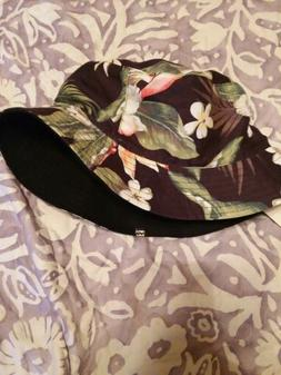 aloha floral bucket jahtaalz bucket cap nwt