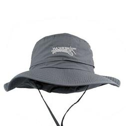 American Outdoorsman The Hunter Wide Brim Bucket Hat XL Char