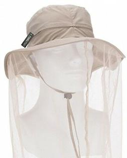 Flammi Outdoor Anti-mosquito Mask Hat with Head Net Mesh Fac