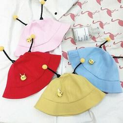 baby boys girls cartoon bucket hats caps