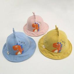 Baby Boys Girls Sun Hat Summer Beach Hat Print Bucket Cap To