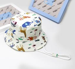Baby Hat Boy/Girl Toddler Kids Play Sun Hats Bucket/Reversib
