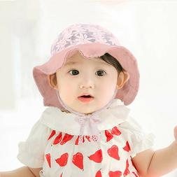 Baby Sun Hat For Boys Girls Outdoor Beach Summer Lace Floral