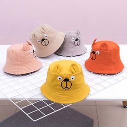 8269646a Baby Sun Hat Summer Beach Hat Bucket Cap Newborn Toddler Kid