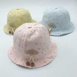 Baby Unisex Sun Beach Hats Toddler Kids Sun Cap Bucket Hat O
