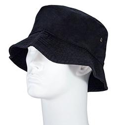 Bandana.com Black Bucket Hat - Single Piece - SM