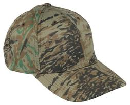 Baseball Camo Solid Hat in Jungle Tree