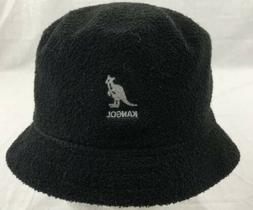 KANGOL Bermuda Bin Bucket Hat Black 6222 BC S Small NWT