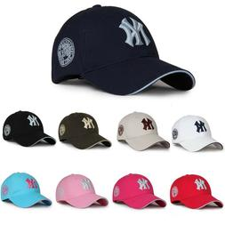 Pink Womens Girls NY New York Yankees Hats Sports Baseball C