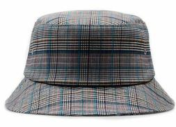 Hatphile Blue Plaid Bucket Hat Wholesale 12 Units