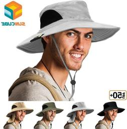 Bonnie Hat for Men Wide Brim Sun Protection Outdoor Hiking F