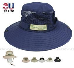 Boonie Bucket Hat Military Tactical Cap Wide Brim Sun Visor