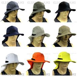 Boonie cap Sun Flap Bucket hat Ear Neck Cover Cool Soft mate