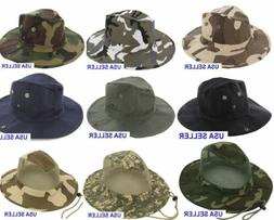 boonie fishing hiking army military camouflage bucket