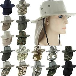 Boonie Fishing Hiking Army Military Snap Brim Neck Cover Buc