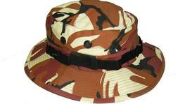 BOONIE HAT Bucket Jungle Fisherman Wide Brim Safari Sun Army