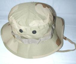 BOONIE HAT BUSH HAT DESERT 3 COLORS POLY COTTON TWILL BUCKET