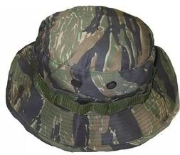 BOONIE HAT BUSH HAT TIGER STRIPES VIETNAM STYLE BUCKET size
