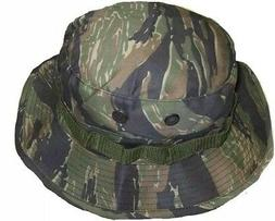 BOONIE HAT BUSH HAT TIGER STRIPES VIETNAM STYLE TWILL BUCKET