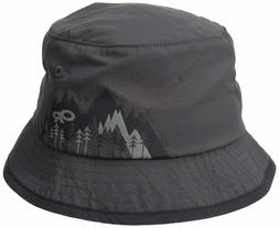 OUTDOOR RESEARCH Boy's Solstice Sun Bucket Hat PEWTER Medium