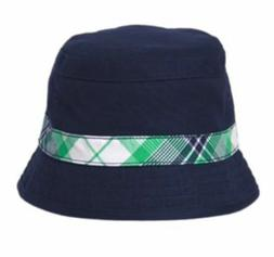 boys backyard explorer plaid bucket hat nwt