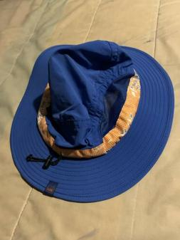 NWT Gymboree Reversible Sea Life Shark Fish Sea Turtle Bucket Sun Hat Boy 2T 3T