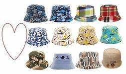 Boys bucket hats kids sun sunshine summer beach