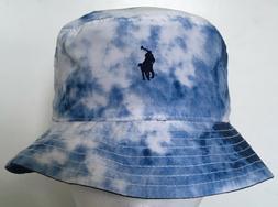 Polo Ralph Lauren Boys Reversible Bucket Chino Hat~Tie-Dye/S