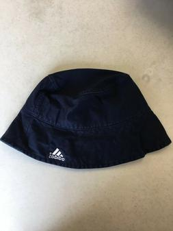 BRAND NEW ADIDAS NAVY WOMEN'S BUCKET HAT LARGE/XLARGE FREE S
