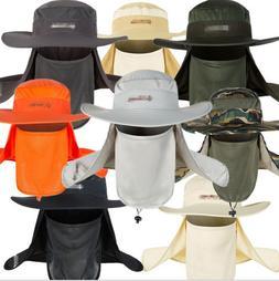 Brim Boonie Hat Quick Drying Outdoor Fishing Sun Cap Unisex