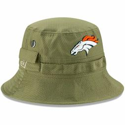 Denver Broncos Bucket Hat New Era 2019 Green Salute to Servi
