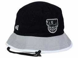 BROOKLYN NETS - NBA NEW ERA Black Top/Gray Tipped Bucket Boo